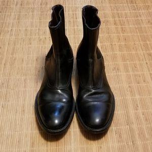 Dolce & Gabbana Men's Black Leather Chelsea Boots